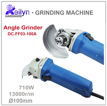710W 220V 13000r/m Wheel Dia 100mm Angle Griender Polishing Machine Grinding Tool DC-FF03-100A