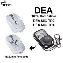 1pcs DEA Gate Garage Remote Control duplicator 433.92mhz fixed code DEA MIO TD2,DEA MIO TD4 DEA gate remote transmitter