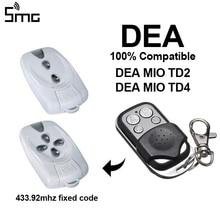 1pcs DEA ประตูรีโมทคอนโทรล duplicator 433.92mhz รหัส DEA MIO TD2, DEA MIO TD4 DEA gate รีโมทคอนโทรล
