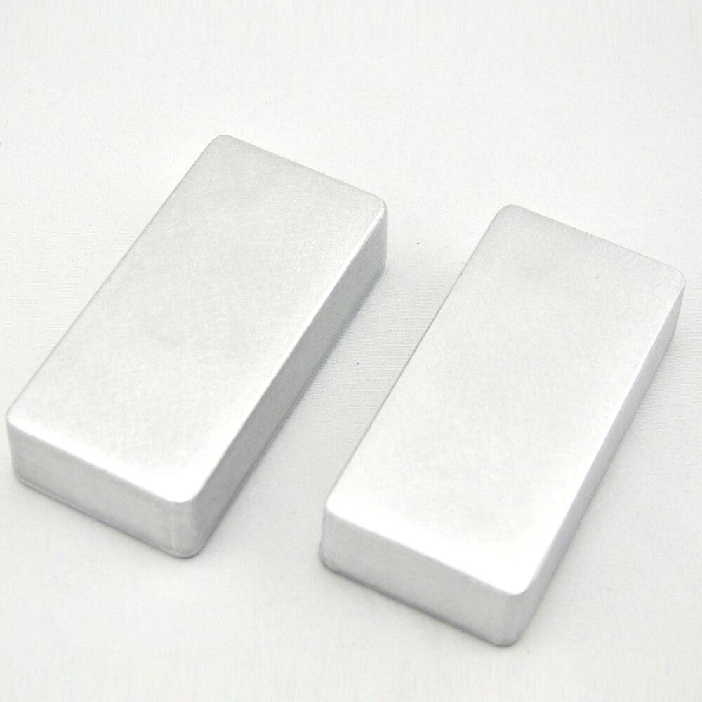 2pcs 1590G Diecast Hamond Enclosure pedal stomp case for  DIY guitar effect pedal project e cap aluminum 16v 22 2200uf electrolytic capacitors pack for diy project white 9 x 10 pcs