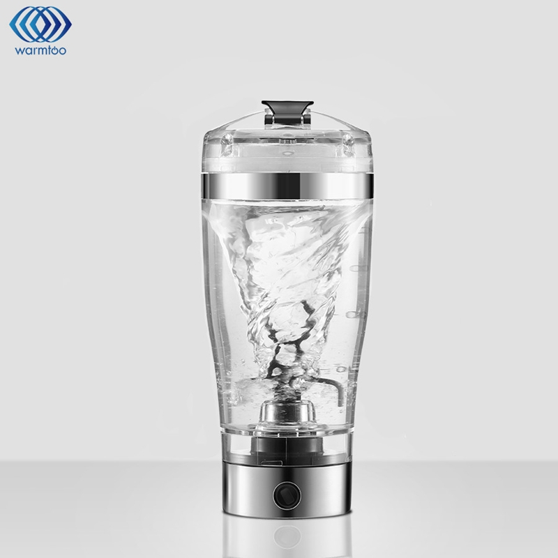 450ML Portable Electric Stirring Blender Vortex Protein Originality Automatic Mixing Cup Lazy Blend Bottle Shaker Cup  350ml electric protein shaker auto stirring mug blender lazy self stir tornado nutrition mixer bottle cup fitness portable