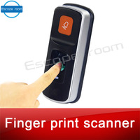 Chamber room escape game prop finger print scanner scan the fingerprint to unlock real life adventure game prop