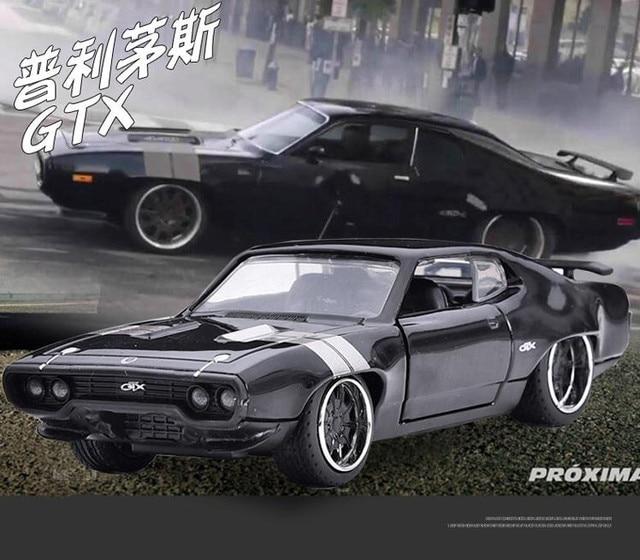 Jada High Imitation Plymouth Gtx Muscle Sports Car 1 32 Alloy Car