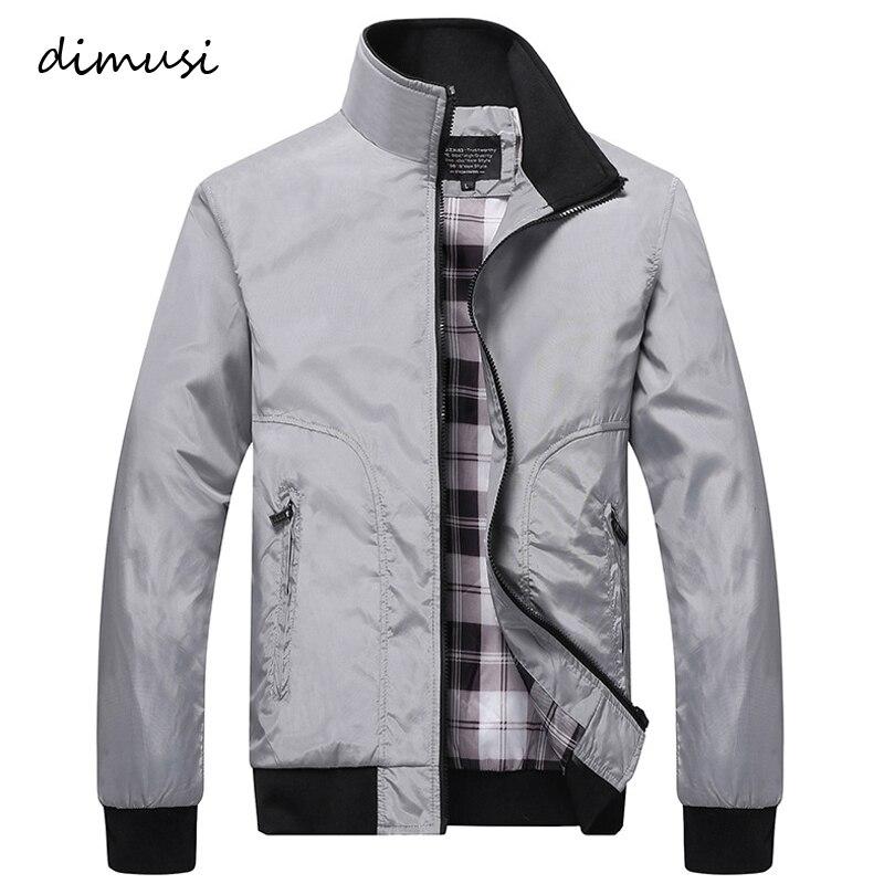 DIMUSI Mens Bomber Jackets Male Casual Outwear Windbreaker Zipper Baseball Unifor Coats Mens Hip Hop Streetwear Jackets,YA766