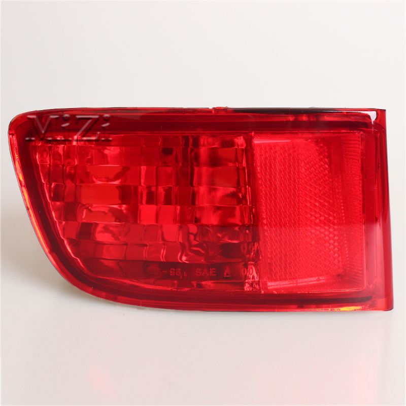 MIZIAUTO Rear Tail Light For Toyota Land Cruiser Prado 120 series GRJ120 TRJ120 FJ120 2002 2009 Bumper lamp Car accessories in Car Light Assembly from Automobiles Motorcycles