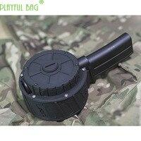 Atividade ao ar livre cs bingfeng mp7 brinquedo bala de água arma expansão cartucho clipe 3d cartucho tambor grande capacidade ii40