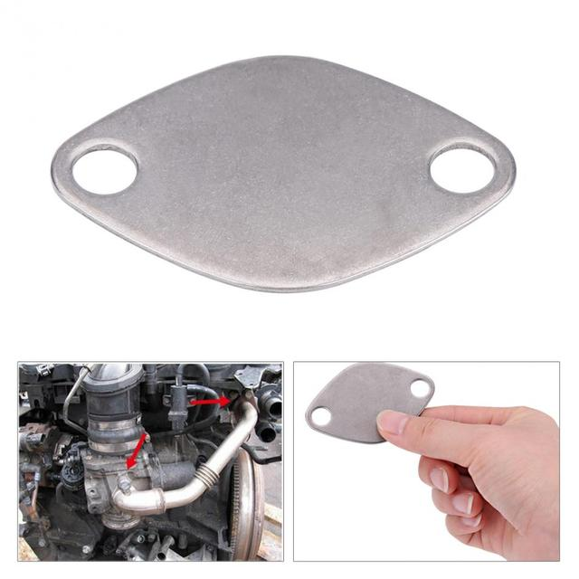 2 шт. EGR клапан заглушки блок пластина комплект для Renault Espace Laguna мастер TRAFIC VAUXHALL MOVANO EGR клапан пластина