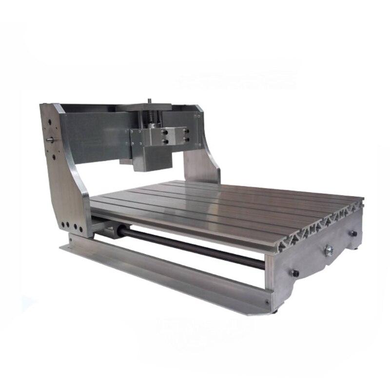 Индивидуальные ЧПУ 6040 рама комплект ЧПУ 6040Z стойки с кроватью ШВП оптической оси для гравировальный станок с ЧПУ