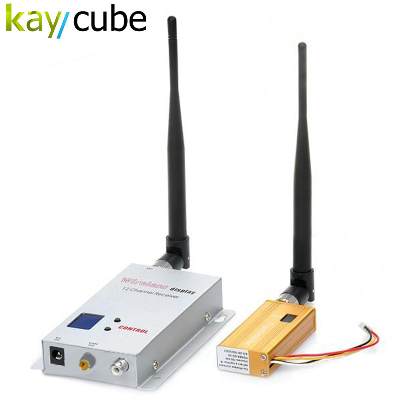 700MW Wireless AV Sender Extender Secutiry CCTV 16CH 1.2G Wireless AV transmitter and Receiver System Audio Video Sender Save