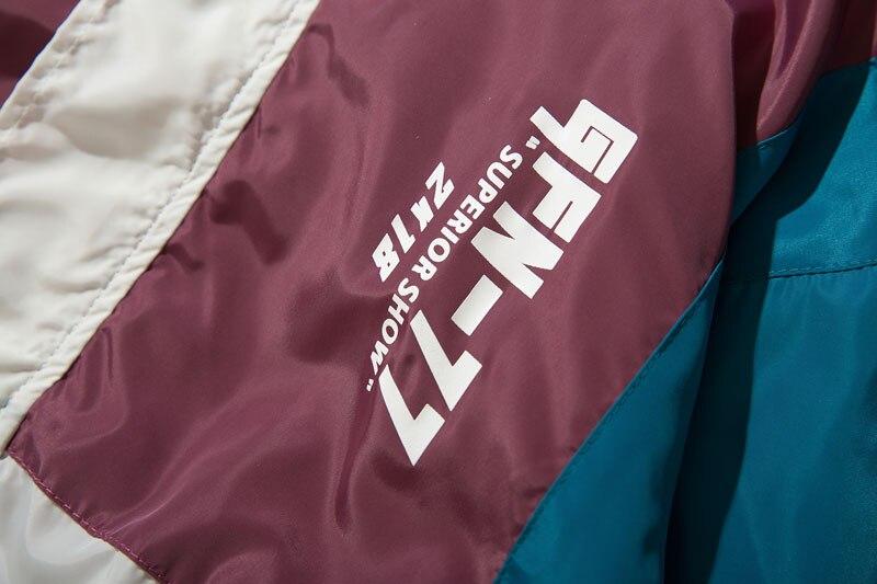 Vintage Color Block Jacket 5