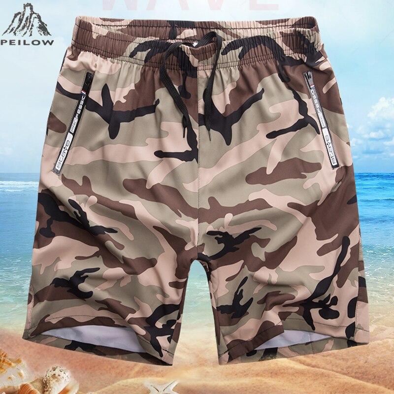 Plus Size 6XL,7XL,8XL New Summer Beach   Short   Men Quick-dry Camouflage   Shorts   Male basket homme   Short   Loose Men's   Shorts