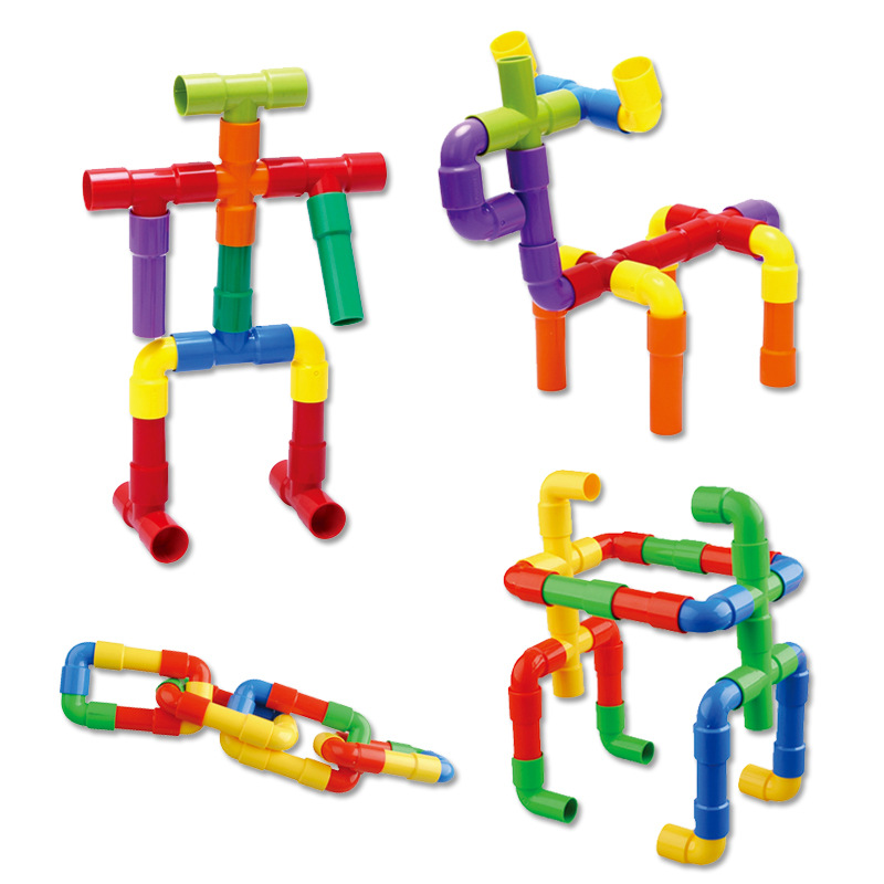Трубопровідні тунельні блоки DIY - Конструктори та будівельні іграшки