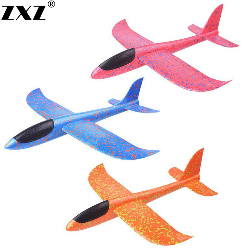 2017 12pcs Diy Hand Throw Flying Glider Planes Foam: 2018 DIY Kids Toys Hand Throw Flying Glider Planes Foam