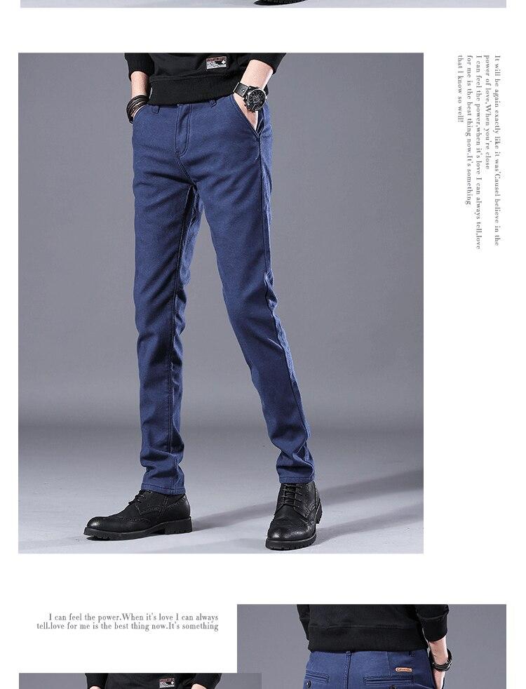 HTB1Tu5RLCzqK1RjSZFjq6zlCFXaU Men's Business Casual Pants Trend Designer Korean Style Slim Male Trousers Classic Plaid High Quality Straight Stretch Pants Men