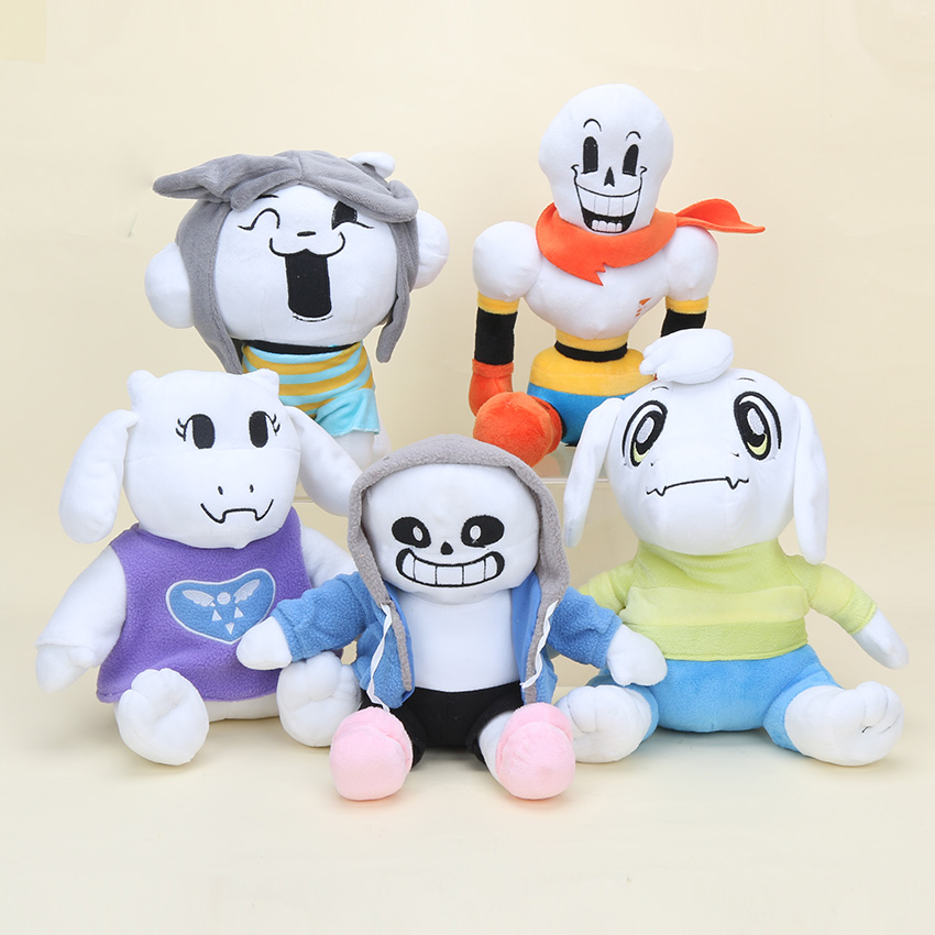 Undertales plush toys Sans Toriel soft stuffed doll toy game figures 22-30cm 5styles(China)