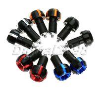 1Pair 22mm 7 8 Universal Motocycle Handlebar Sportster Suzuki Kawasaki Rizoma Aluminum Moto Handle Hand Grips