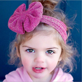 1 pcs EM VENDA Elastic Bebê Recém-nascido Meninas Headband Infantil Bowknot Faixa de Cabelo Crianças Cabeça Nó bandeau bebe Do Bebê Turbante