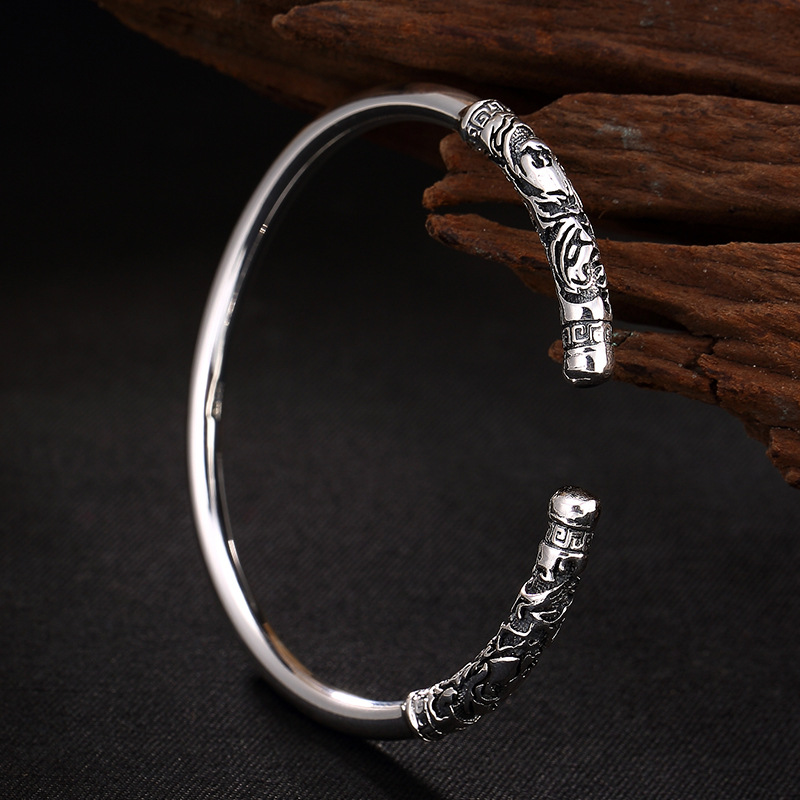 2018 Direct Selling Time-limited No Bangle Fine Restoring Ancient Ways Is Thai Great And Lovers Sterling Bracelet Wholesale 2018 direct selling anel feminino thai restoring ancient ways leading mosaic unique ring wholesale corundum man with ambition