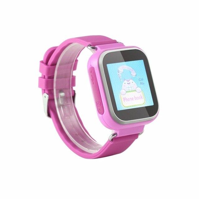 Multifunction T06S Kids Smart Watch LBS Positioning Color Display Multiple Langu