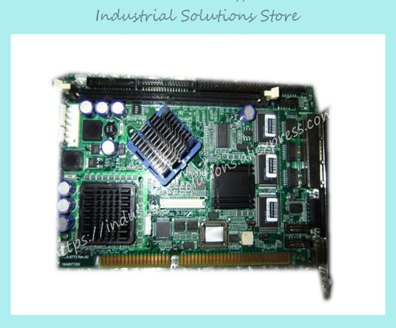 PCA-6772 PCA-6772F Industrial Motherboard 3 Ethernet Port Motherboard PCA-6772 100% tested perfect quality industrial floor picmg1 0 13 slot pca 6113p4r 0c2e 610 computer case 100% tested perfect quality