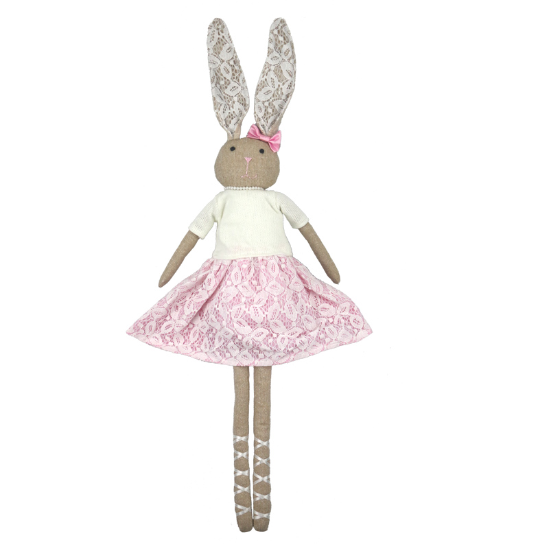 76CM Lovely Bunny Rabbit Plush Doll Kids Sleep Stuffed Plush Dolls Easter Bunny Pink Rabbit Doll Kawaii Plush Doll Toys le sucre wearing dress 30cm kawaii rabbit plush toys bunny stuffed dolls kids toys gifts clothes can be take off