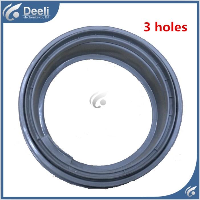 new Original for washing machine Door seals WFS1072CS,WFS1071CW WFS1065CW WFS1065CS WFS1273CS,WFS1266CT 3 holes good working original new for lg drum washing machine door hinge 42741701 1pcs