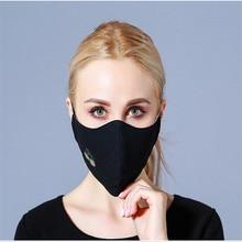 10pcs/Bags Autumn And Winter Fashion Masks New Cotton Dust Anti-haze Korean Breathable Three-dimensional Warmth