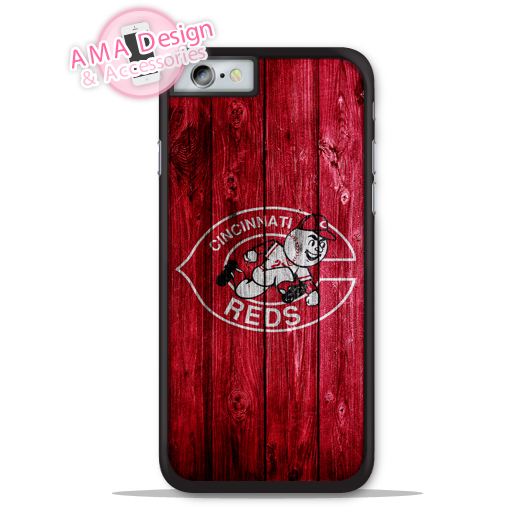 Cincinnati Reds Baseball Sport Phone Cover Case For Apple iPhone X 8 7 6 6s Plus 5 5s SE 5c 4 4s For iPod Touch