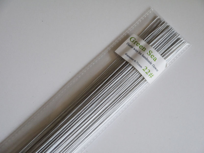 22gauge green paper covered wire fondant cake accessory wire ...