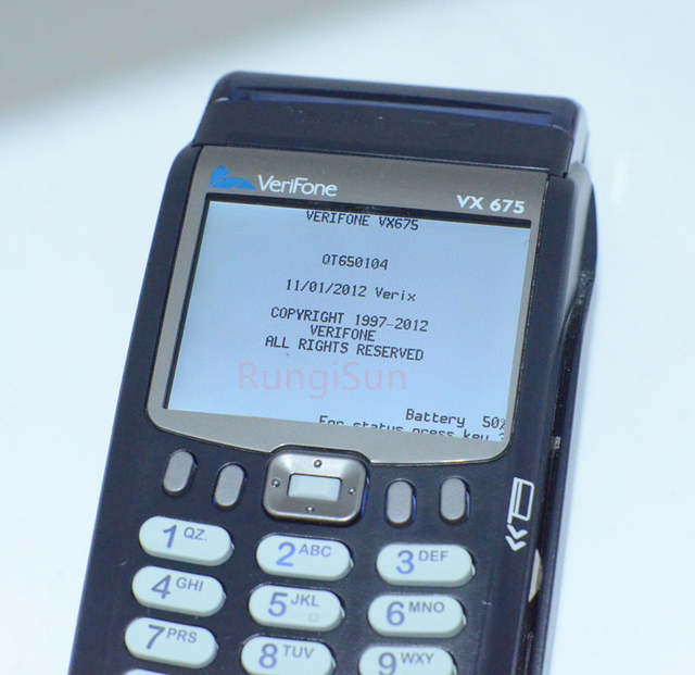 Detail Feedback Questions about Verifone Brand New Vx675 GPRS CTLS