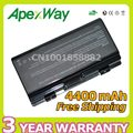 Apexway 4400mAh laptop battery for Asus 90-NQK1B1000Y A31-T12 A32-T12 A32-X51 T12Jg T12Mg T12Ug  X51H  X51L  X51R  X51RL X58