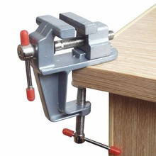Mini Table Bench Vise Small Work Crafts Arts Detailing Workbench Jewelry Making Hobbies Finishing Modeling Round Objects Tool yofe folding work bench steel table garage portable tool workbench woodworking benches ht1428