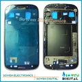 For Samsung Galaxy S3 i9305 LCD Front Housing Frame Bezel Plate Middle Frame White and Pebble Blue and Black