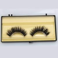 1 Pair Hand Made Mink Lashes Thick Curly Mink Hair False Eyelashes Fake Eye Lashes Natural Long Eyelash Extension Makeup Tools False Eyelashes