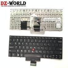 Clavier anglais américain dorigine pour Lenovo Thinkpad X121e X130e X131e X140e Teclado 04Y0342 0C01737 04Y0379