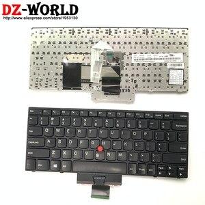 Image 1 - Originale Tastiera US English Per Lenovo Thinkpad X121e X130e X131e X140e Teclado 04Y0342 0C01737 04Y0379