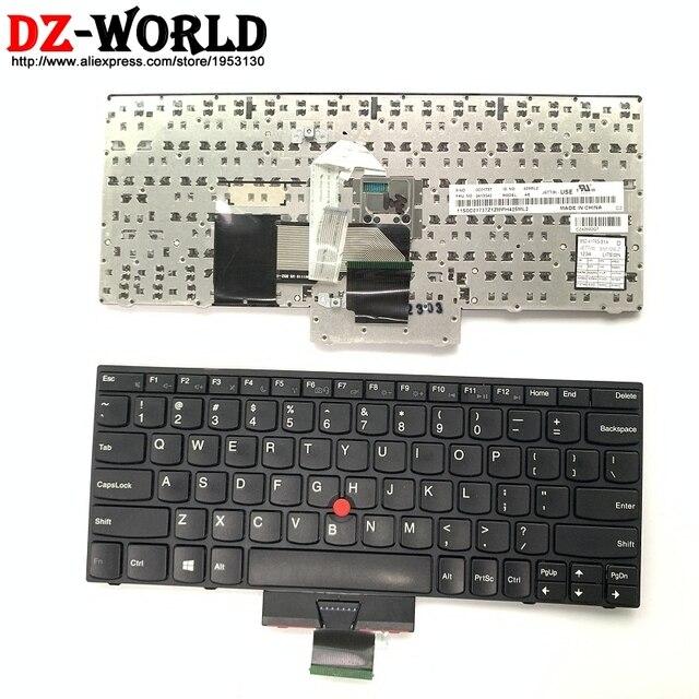 Originale Tastiera US English Per Lenovo Thinkpad X121e X130e X131e X140e Teclado 04Y0342 0C01737 04Y0379