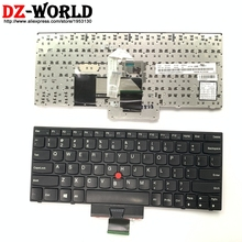 Teclado Inglés Original para Lenovo Thinkpad X121e X130e X131e X140e, Teclado 04Y0342 0C01737 04Y0379