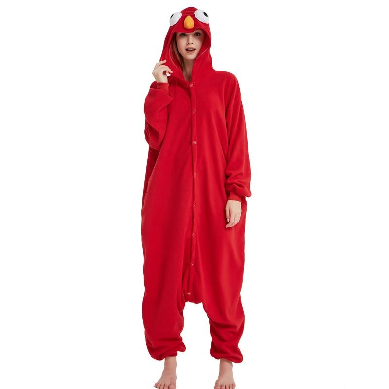 27fb66f677 ... New Sesame Street Cooki Monster Elmo Costume Adult Romper Pyjamas Adult  Unisex Pajamas Animal Halloween Cosplay ...