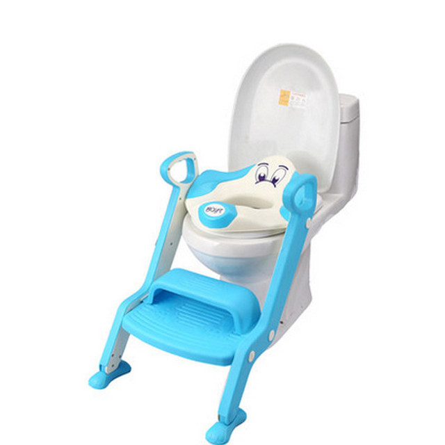 Travel Potty Chair Baby Potty Seat Ladder Children Toilet Seat Cover Kids Toilet Folding Infant Potty Chair Portable