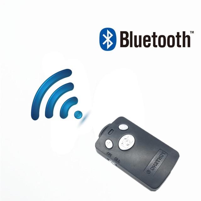 FGHGF fernauslöser Selfie Shutter Bluetooth Fernbedienung Stick Einbeinstativ Taste selbstauslöser Für yunteng 1288 Für IPhone 6 7 8