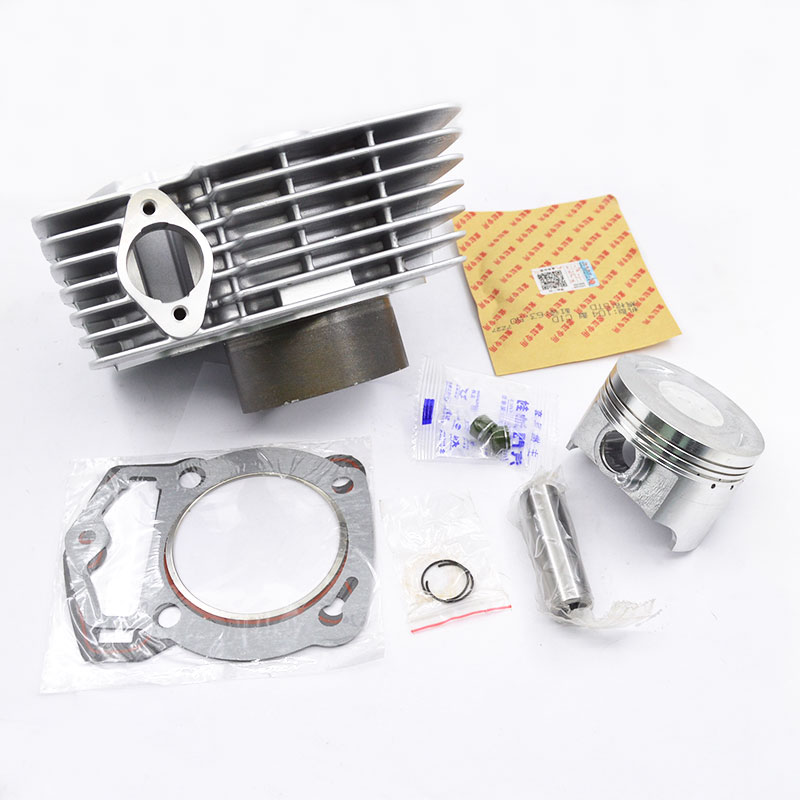 Motorcycle Cylinder Piston Ring Gasket Kit 63.5mm Bore 196cm3 for <font><b>Lifan</b></font> CB200 WY196 CB 200 WY 196 <font><b>200cc</b></font> Off Road Dirt Bike image