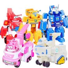 Super jouets à ailes, figurines en ABS, Super ailes, Transformation des ailes, Robot, Animation de Jet, cadeaux danniversaire