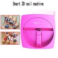 V11 3D nail paint printer Automatic intelligent nail painting machine photo transmission using mobile phone nail machine 220V