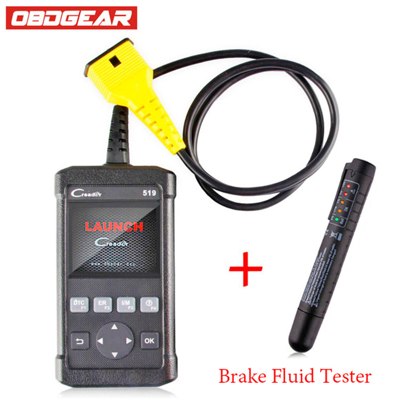 Launch Creader CR519 ODB2 OBD2 Autos scanner Support Multi-language Automotive Scanner For VW/BMW/ BENZ Car Diagnostic Scanner бита stayer profi 26221 2 25 50
