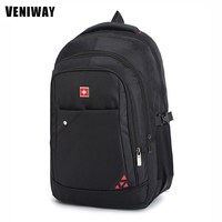 VENIWAY Swiss Brand Gear Waterproof Laptop Backpack 15 Inches Large Capacity Business Backpacks Men S Travel