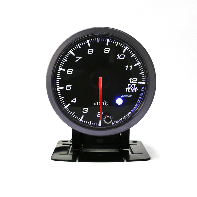 "2.5"" 60MM Black Face D*FI Style No Logo Exhaust gas temp gauge with peak function and Sensor//AUTO GAUGE YC100077"
