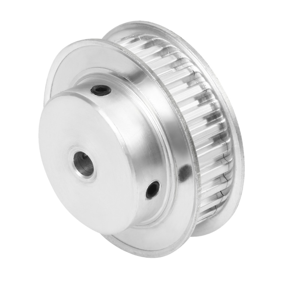 Aluminum <font><b>XL</b></font> 30 Teeth 5/6/6.35/7/8/10/12/12.7/14/15/16/17/19/20mm Bore Timing Idler <font><b>Pulley</b></font> Synchronous Wheel for 11mm Width <font><b>Belt</b></font> image