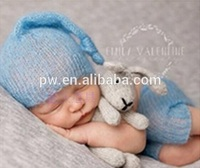 Baby Pixie Hat and Pants Baby Clothing Set Newborn Pants witn Heart Photography Props