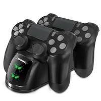 Für für PS4 Controller Ladegerät Dual Lade Dock Station mit Status Display für Playstation 4/PS4 Dünne/PS4 pro Controller